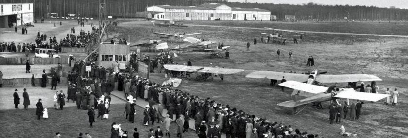 """Vortrag """"Die Luftfahrt: Adlershof und Tempelhof im europäischen Vergleich"""""""