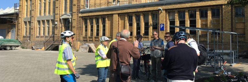 Reinickendorfer Industriegeschichte - Fahrradtour mit dem ADFC