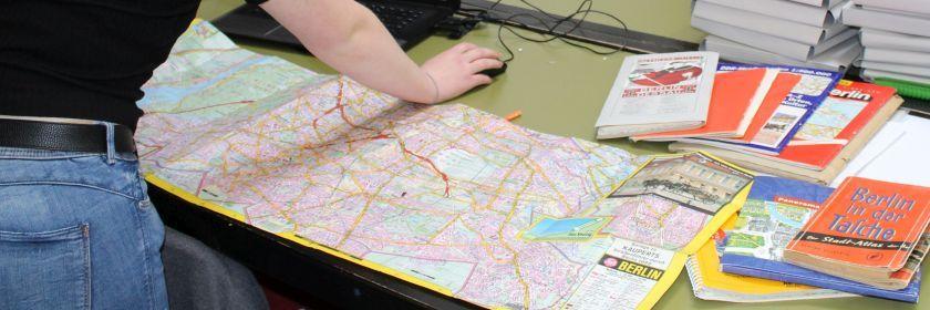 Karten und Pläne von Berlin und Brandenburg – Abschlussbericht meines dreiwöchigen Praktikums